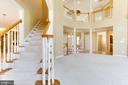 Dramatic Rear Staircase - 42739 CEDAR RIDGE BLVD, CHANTILLY