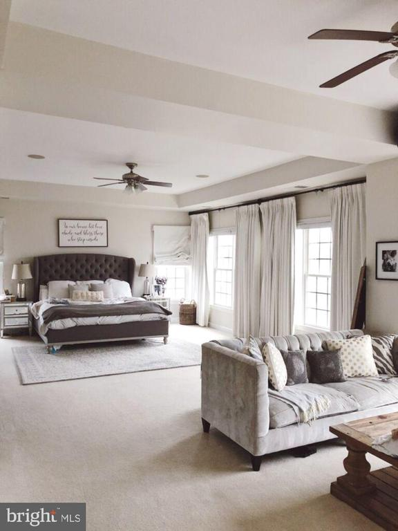 Gorgeous master bedroom! - 43263 PARKERS RIDGE DR, LEESBURG