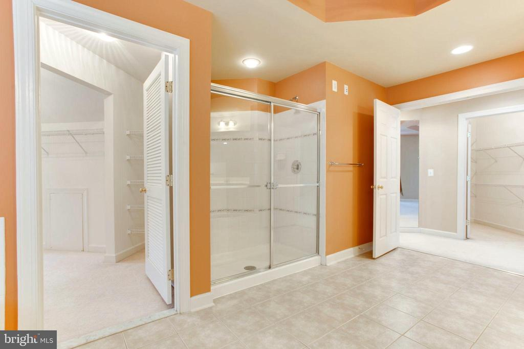 Owner's Luxury Bath - 42739 CEDAR RIDGE BLVD, CHANTILLY