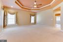 Owner's Suite With Tray Ceiling - 42739 CEDAR RIDGE BLVD, CHANTILLY