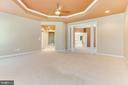 Owners Suite With Dressing Area And Dual Closets - 42739 CEDAR RIDGE BLVD, CHANTILLY
