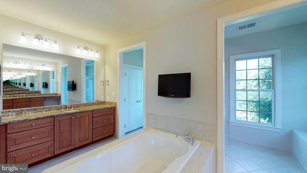 TV, tub and shower in back! - 43263 PARKERS RIDGE DR, LEESBURG