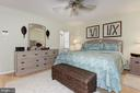 handsome bamboo hardwoods w/area carpet - 9802 PEPPERMILL PL, VIENNA