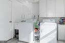 Completely finished laundry room w/lots of cabs. - 9802 PEPPERMILL PL, VIENNA