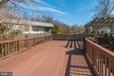 multi level deck for great entertaining - 9802 PEPPERMILL PL, VIENNA