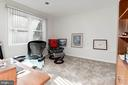 4th BR/office on lower level - 9802 PEPPERMILL PL, VIENNA