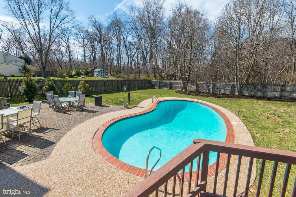 Pool is opened for the summer! - 9802 PEPPERMILL PL, VIENNA