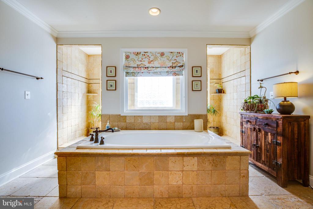 Master Bath w/ Soaking tub and Double head shower - 20 PROSPECT DR, FREDERICKSBURG