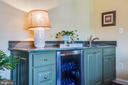 Sink and Fridge in Master Suite - 20 PROSPECT DR, FREDERICKSBURG