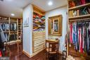 Bedroom~2 large walk in closet - 20 PROSPECT DR, FREDERICKSBURG