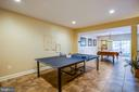 Game room are in the walk out basement - 20 PROSPECT DR, FREDERICKSBURG