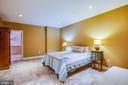 Bedroom/ family room in basement - 20 PROSPECT DR, FREDERICKSBURG