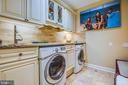 Spacious Laundry on first floor - 20 PROSPECT DR, FREDERICKSBURG