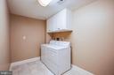 Laundry in Basement - 20 PROSPECT DR, FREDERICKSBURG