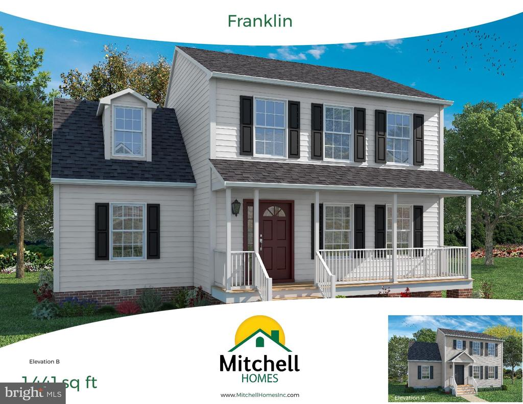 This is a rendering of the Franklin Model - 11 ASH, STAFFORD