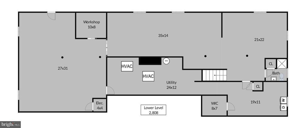 Lower Level floorplan - 9221 COLESVILLE RD, SILVER SPRING