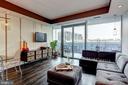 Living Room - 1881 N NASH ST #906, ARLINGTON