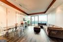 Light-Filled Living Area - 1881 N NASH ST #906, ARLINGTON