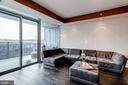 Spacious Sunlit Living Room - 1881 N NASH ST #906, ARLINGTON