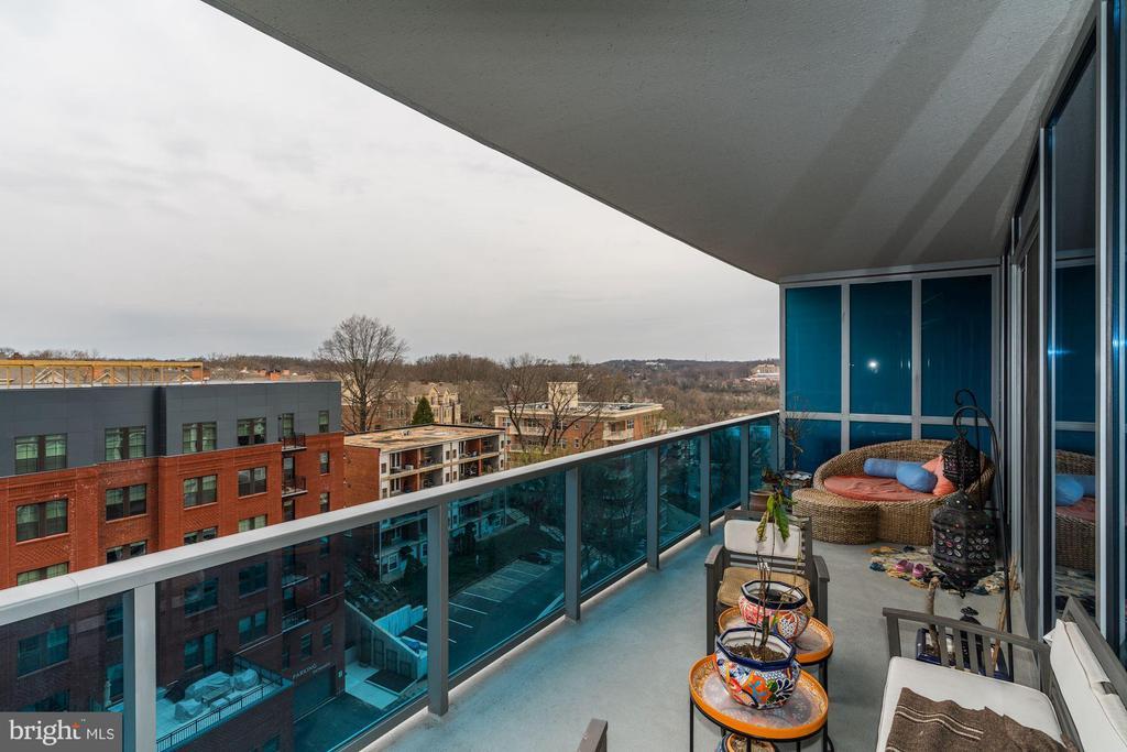 Large Terrace Great for Entertaining - 1881 N NASH ST #906, ARLINGTON