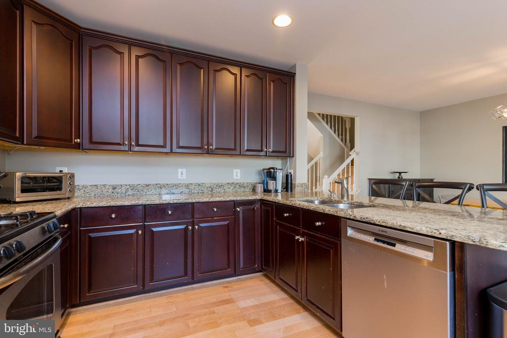 Plenty of Cabinets and Counter Space - 1978 LOGAN MANOR DR, RESTON