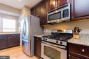 Kitchen with Stainless Steel Appliances - 1978 LOGAN MANOR DR, RESTON
