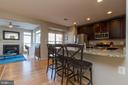 Open Kitchen and Family Room - 1978 LOGAN MANOR DR, RESTON