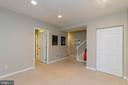 Finished Lower Level - 1978 LOGAN MANOR DR, RESTON