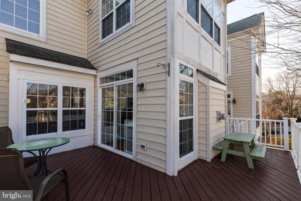 Deck with Low Maintenance Materials - 1978 LOGAN MANOR DR, RESTON