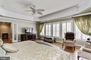 Owners Suite View 2. Overlooking Large Windows - 3509 SCHUERMAN HOUSE DR, FAIRFAX