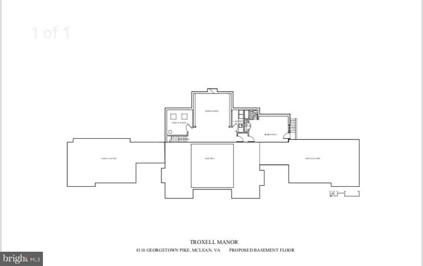 Floor Plan - Lower Level - 8110 GEORGETOWN PIKE, MCLEAN