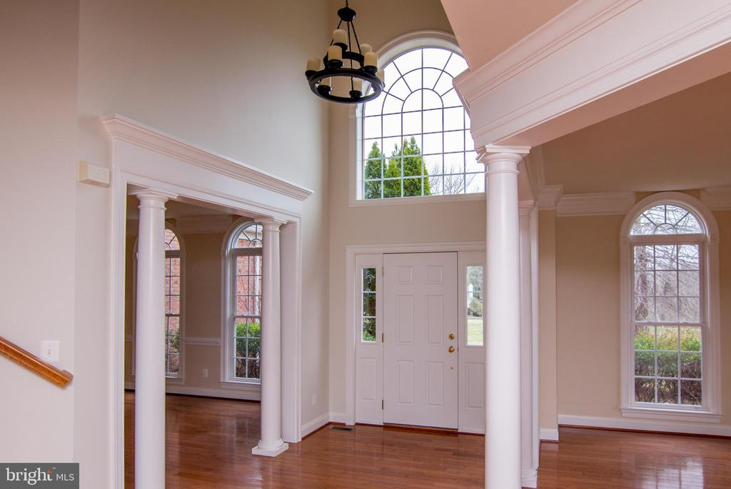 Foyer  towards front door DR to left ,LR to right - 36895 LEITH LN, MIDDLEBURG
