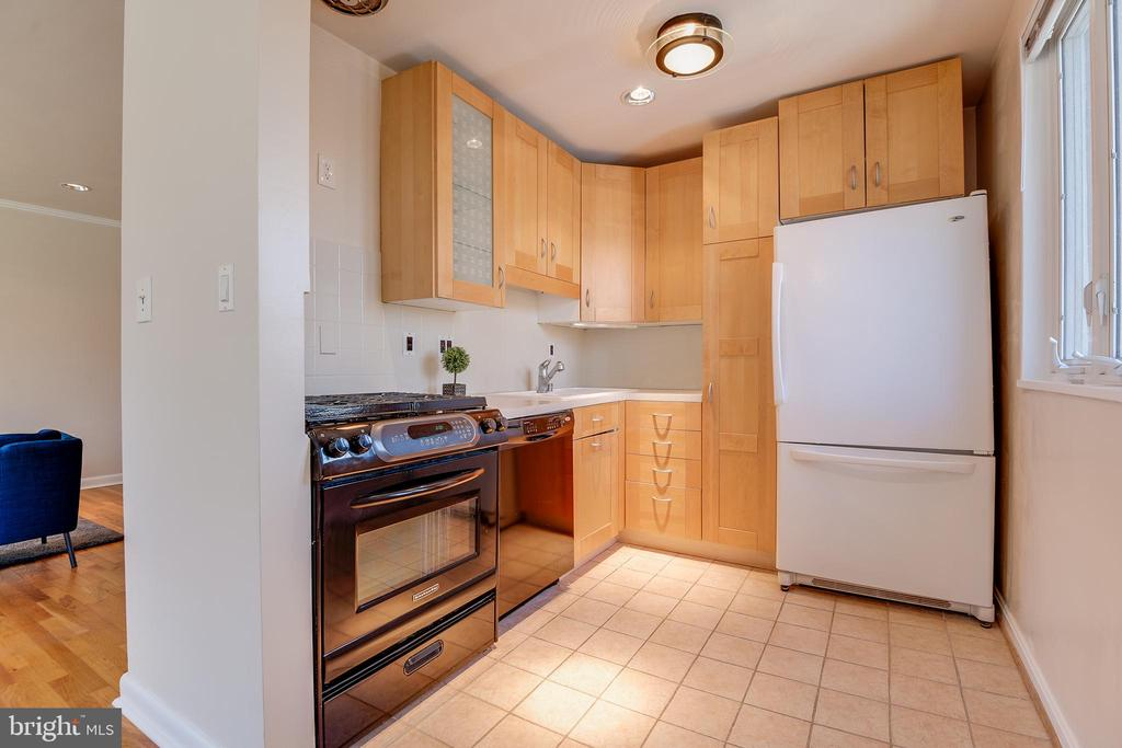 Updated Kitchen - 2400 41ST ST NW #513, WASHINGTON