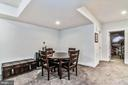 Huge Basement. Great Place for a Game Table! - 17152 GULLWING DR, DUMFRIES