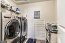 Bedroom Level Laundry w/ Rough-in for Sink - 17152 GULLWING DR, DUMFRIES