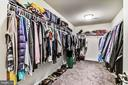 Master Walk-in Closet - 17152 GULLWING DR, DUMFRIES