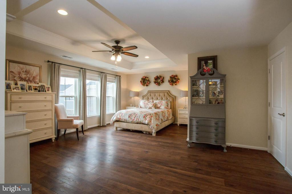 Spacious Master Suite with Tray Ceiling - 1010 LACONIAN ST SE, LEESBURG