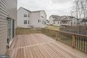 Deck off family room view left - 10283 SPRING IRIS DR, BRISTOW
