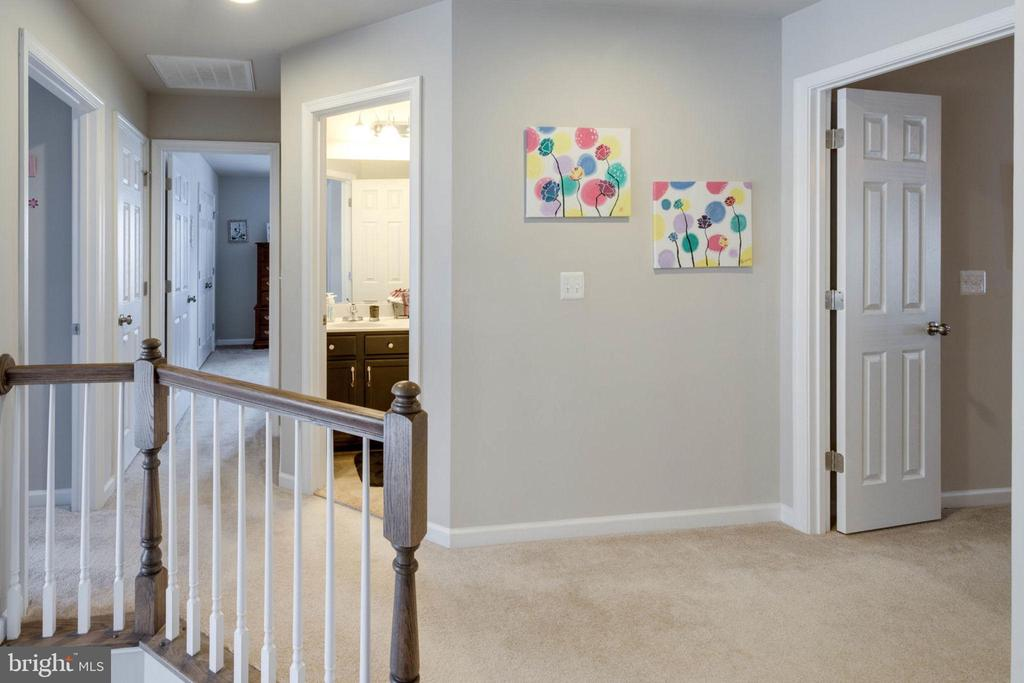Master French doors to right at top of stairs - 10283 SPRING IRIS DR, BRISTOW