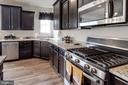Country kitchen with granite, SS, gas cooking - 10283 SPRING IRIS DR, BRISTOW