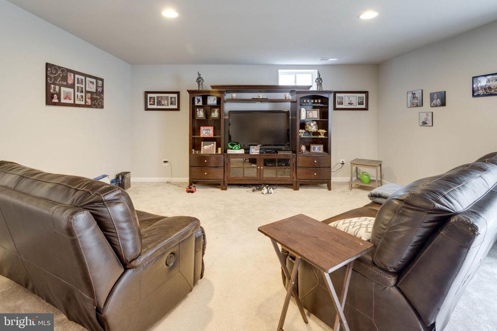 Game time or movie? Kick back here. - 10283 SPRING IRIS DR, BRISTOW