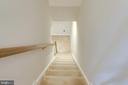 View down stairs to finished lower level - 10283 SPRING IRIS DR, BRISTOW