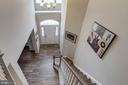 Upper level view down to main hall - 10283 SPRING IRIS DR, BRISTOW