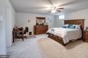 Den/bedroom 5 has small upper window - 10283 SPRING IRIS DR, BRISTOW