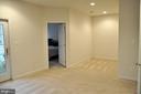 Bedroom #4 in lower level - 20079 NORTHVILLE HILLS TER, ASHBURN