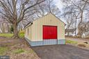 Large storage shed - 3311 CHURCH RD, BOWIE