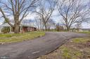 Long paved driveway with plenty of parking - 3311 CHURCH RD, BOWIE