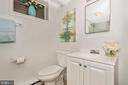 Full bathroom in basement - 3311 CHURCH RD, BOWIE