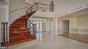 Foyer and Spiral Staircase - 1413 WYNHURST LN, VIENNA