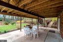 Patio for more outdoor living. - 9329 GLENBROOK RD, FAIRFAX